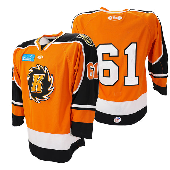 2020 Orange Game Issued Jersey - #61 | XL