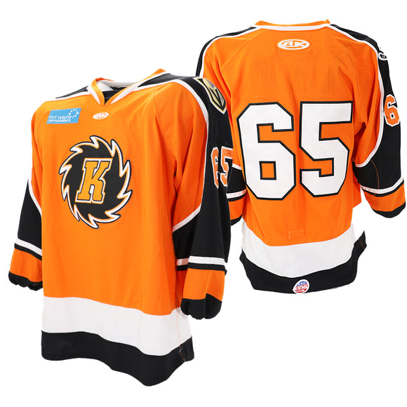 2020 Orange Game Issued Jersey - #65 | 2XL