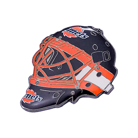 Lapel Pin - Goalie Mask