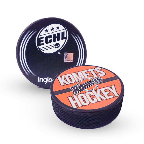 Komets Hockey Puck