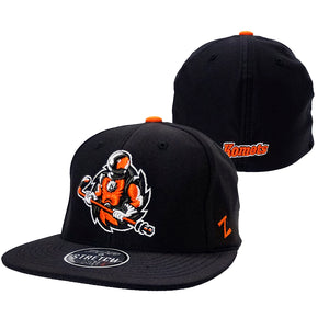 Flatbill Spaceman Fitted Hat
