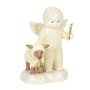 DEPARTMENT 56 SNOWBABIES PEACEFUL KINGDOM I'LL LIGHT THE WAY