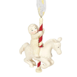 "Department 56 Snowbabies ""Christmas Carousel"" Ornament"