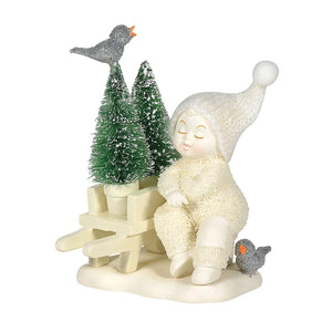 "DEPARTMENT 56 SNOWBABY ""NEW TREES TO PLANT"""
