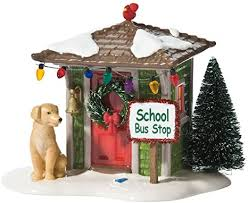 Department 56 - The Original Snow Village  - Waiting for the Bus