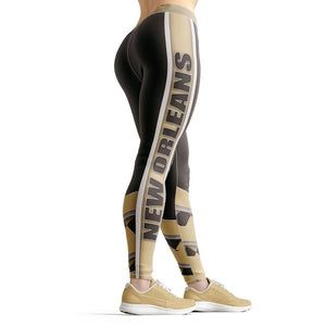 New Orleans Football Beverly Leggings