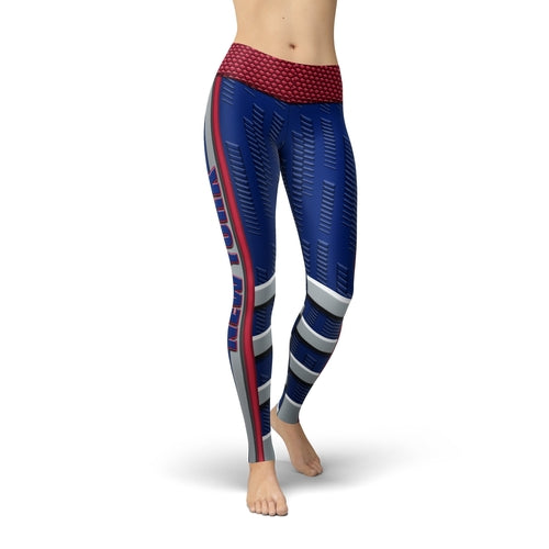 New York G Football Jean Leggings