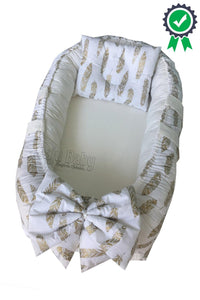 Jaju Baby Feather Charm Luxe Baby Nest