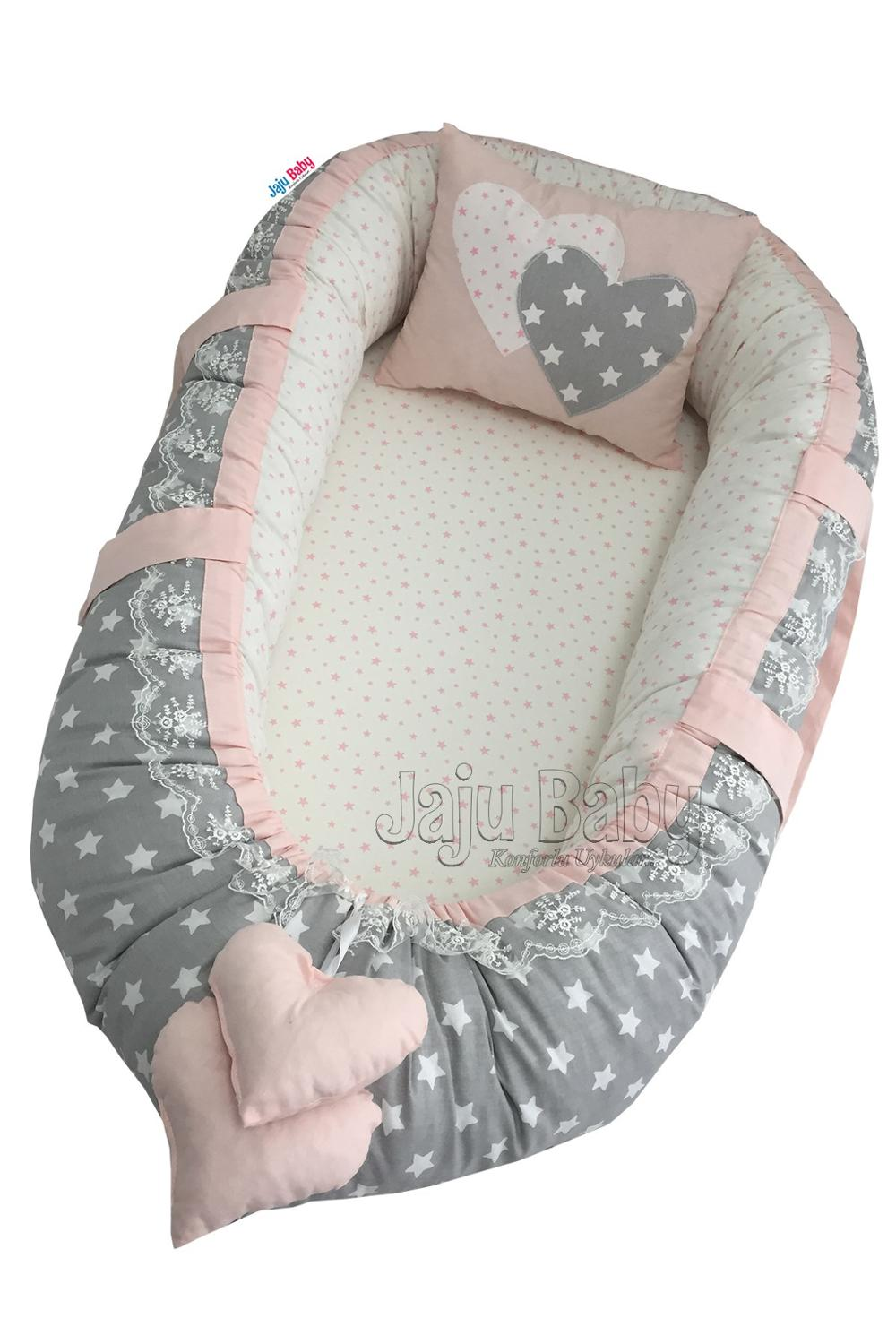 Jaju Baby Gray Love Baby Nest