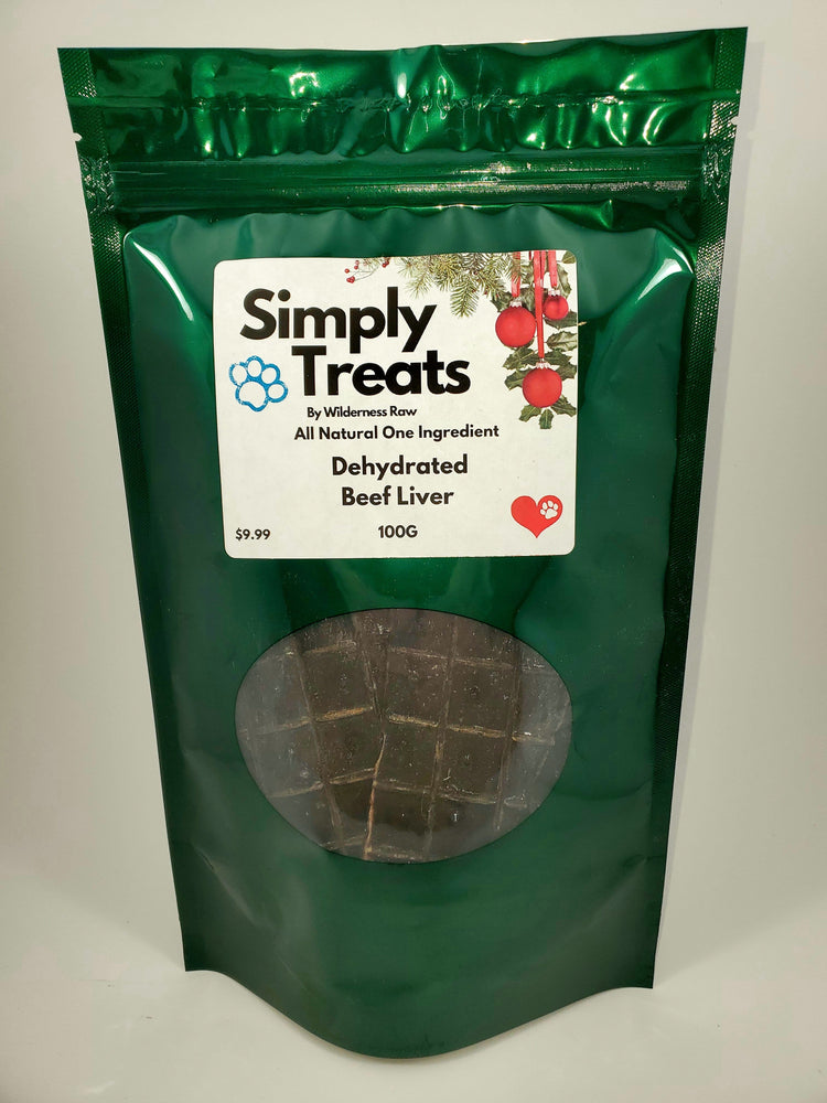 Simply Treats - Dehydrated Beef Liver