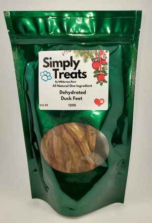 Simply Treats - Dehydrated Duck Feet
