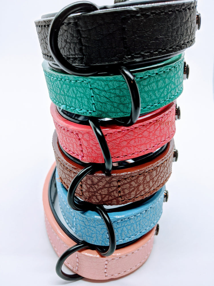 Kuma's Secure Leather Dog Collar