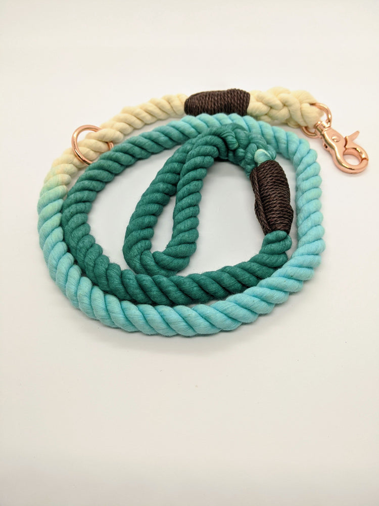 Grizzly's Ombre Rope Dog Leash