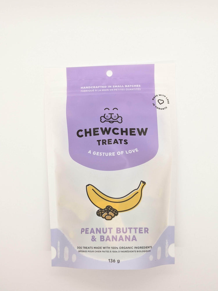 Chew Chew Treats - Peanut Butter & Banana
