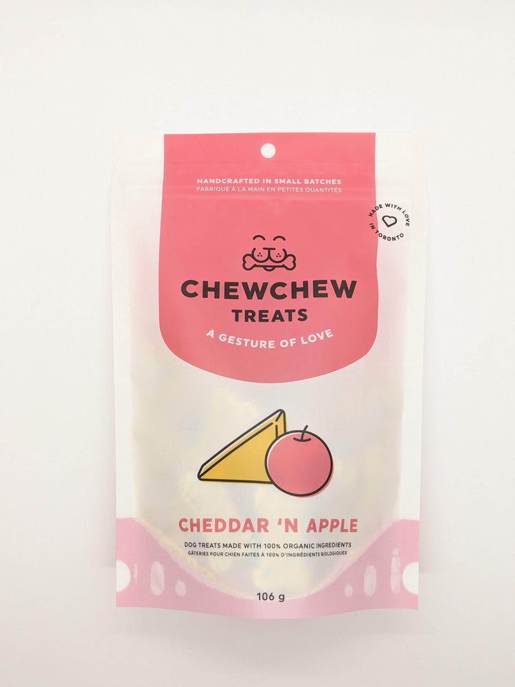 Load image into Gallery viewer, Chew Chew Treats - Cheddar 'N Apple