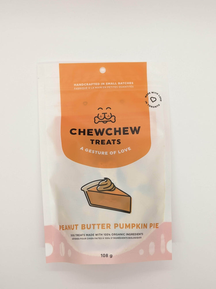 Chew Chew Treats - Peanut Butter Pumpkin Pie