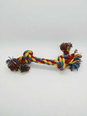 Colorful Braided Rope Toy