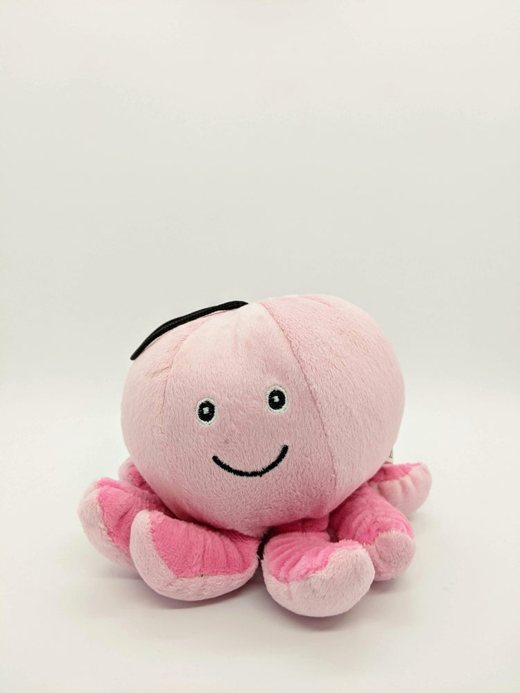 Octopus Plush Squeaky Toy