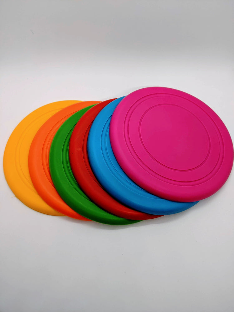 Bright Rubber Frisbee
