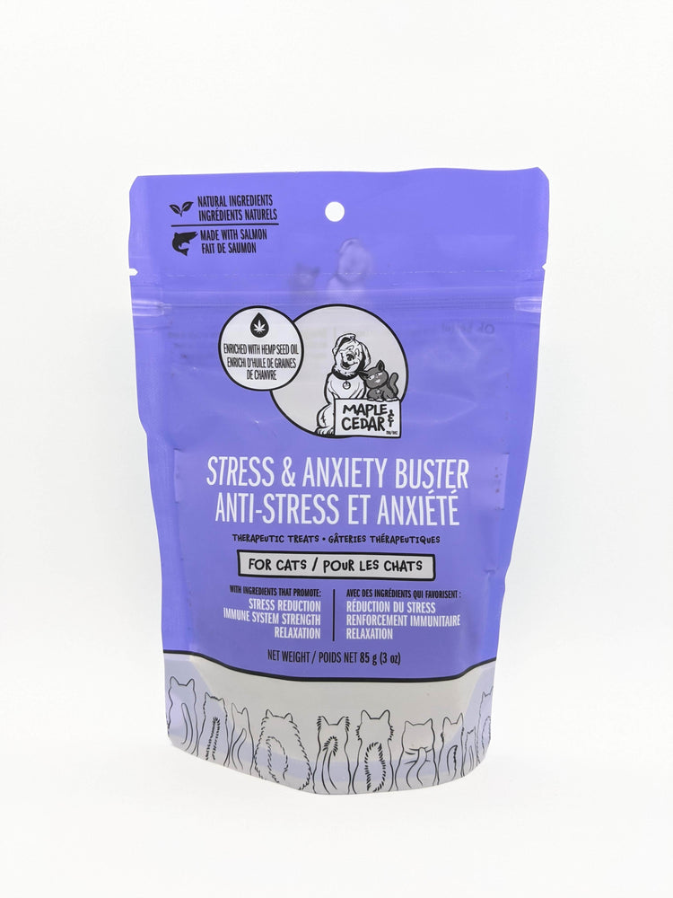 Maple & Cedar - Stress & Anxiety Buster for Cats