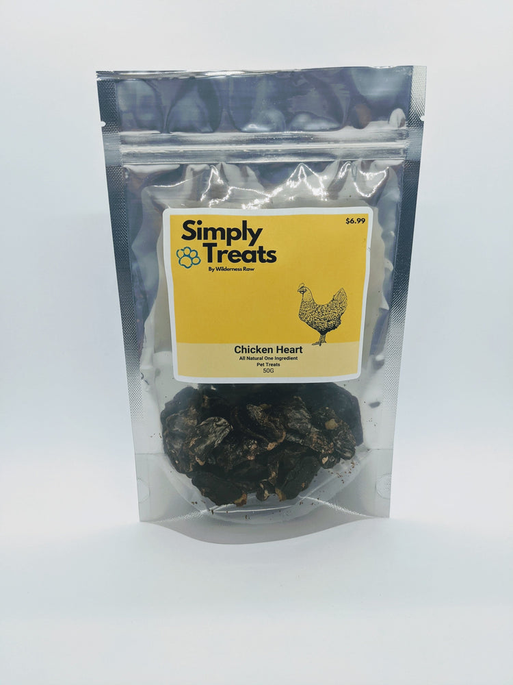 Simply Treats - Dehydrated Chicken Hearts