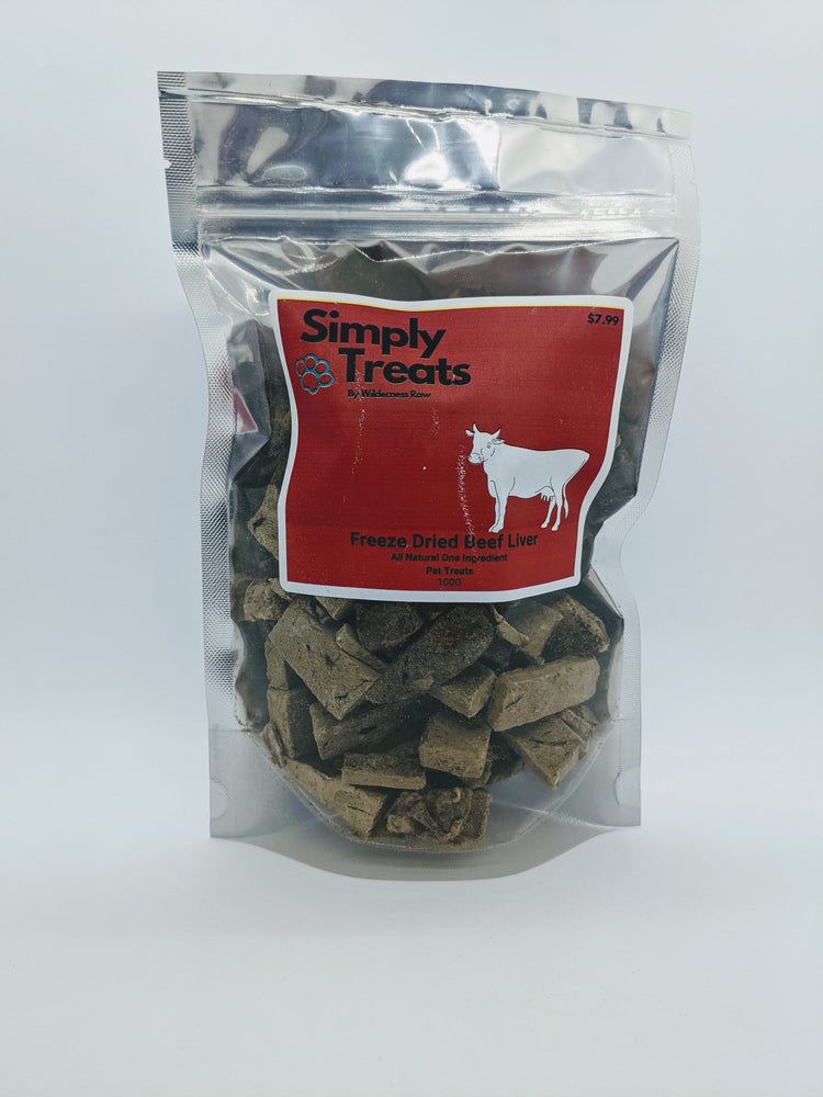 Simply Treats - Freeze Dried Beef Liver