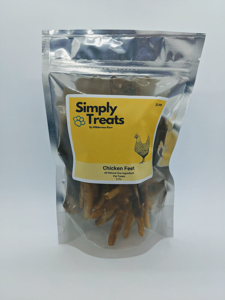 Simply Treats - Dehydrated Chicken Feet - 5PC