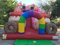 Inflatable/Candy Slide (8.2mx5mx6.5m)