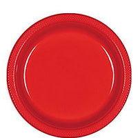 Apple Red Plates