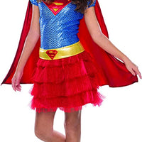 Supergirl Sequin Toddler Costume Size 2 to 4