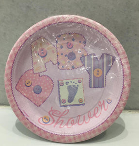 Baby Pink Plates