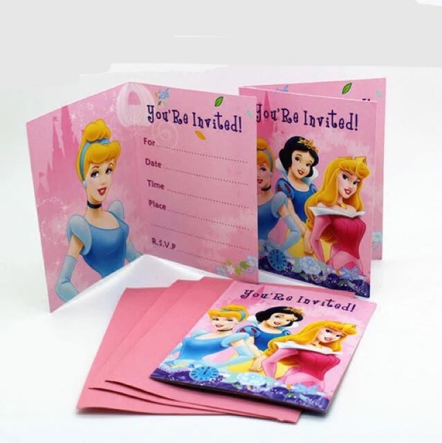 Princess Invitation Premium