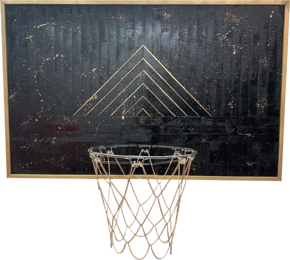 Demand Justice Basketball Hoop