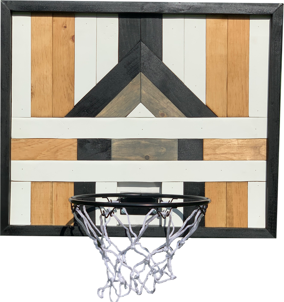 Jan Basketball Hoop Art