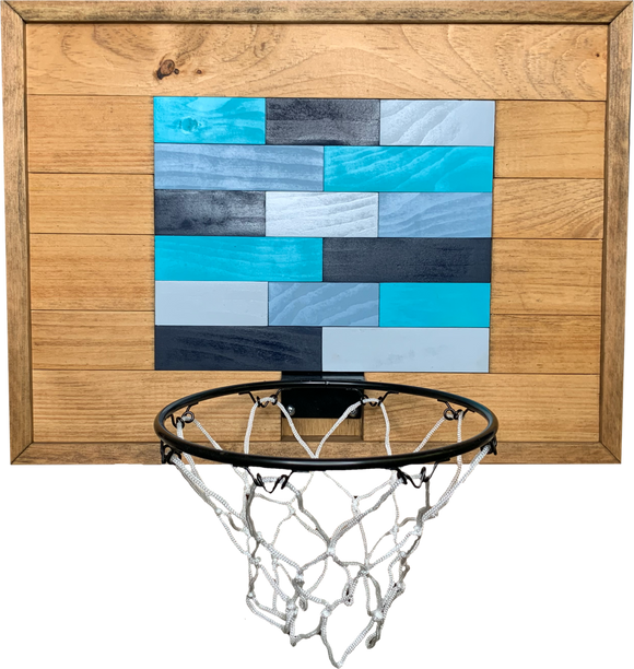 Brick Basketball Hoop Art
