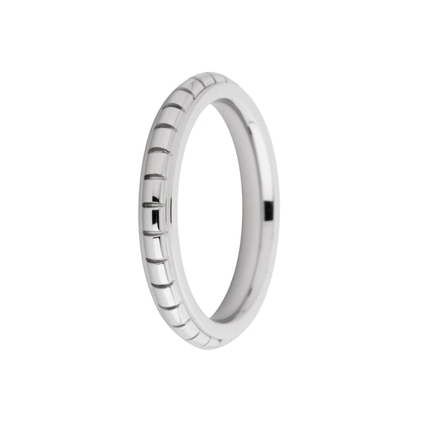 Sarah Side Ring | Engraved | Silver