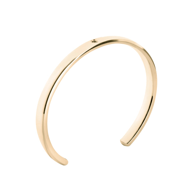 Twisted | Gold Cuff
