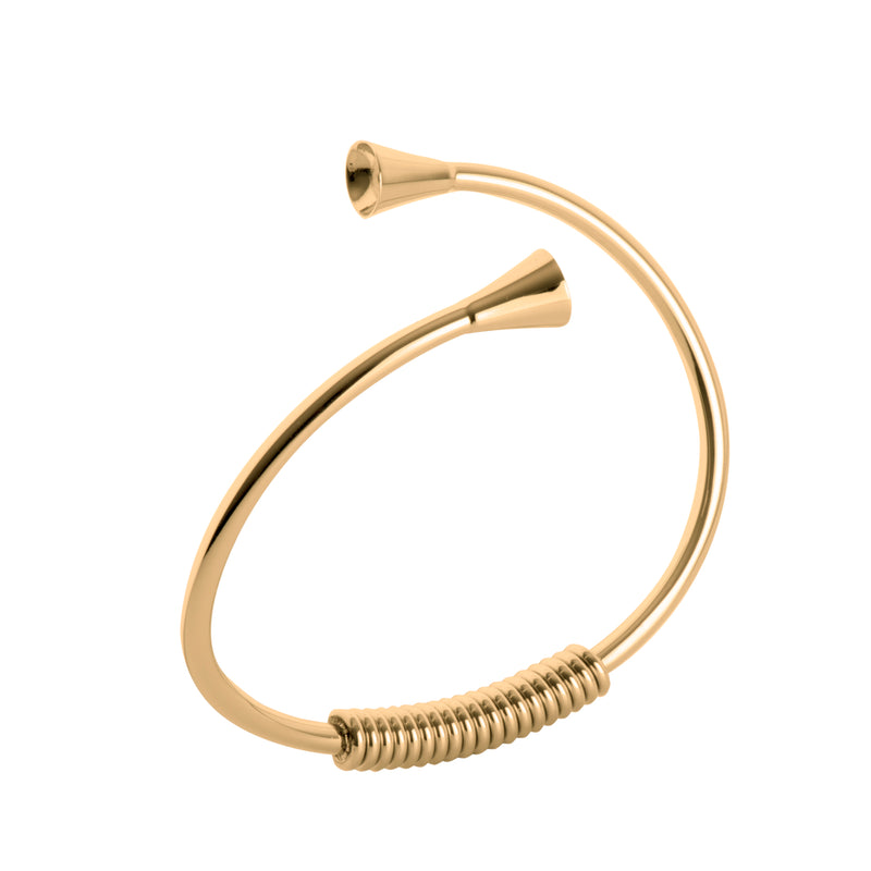 Twisted Curved | Gold