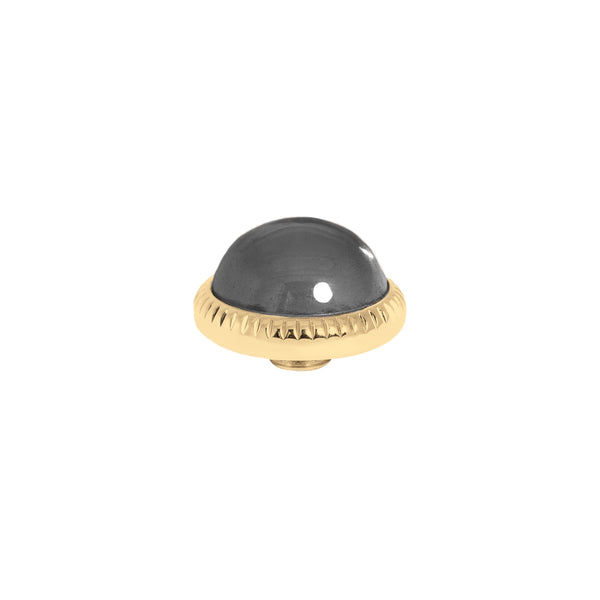 Vivid Low Dome | Gold | Black