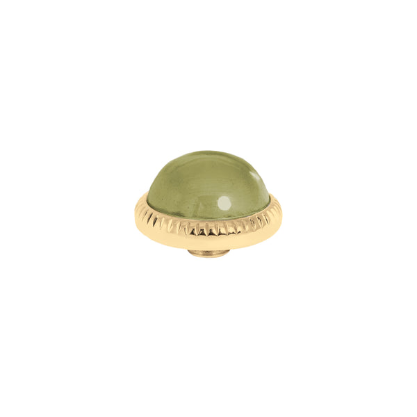 Vivid Low Dome | Gold | Olive