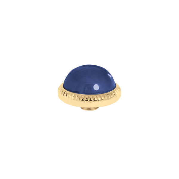 Vivid Low Dome | Gold | Navy Blue