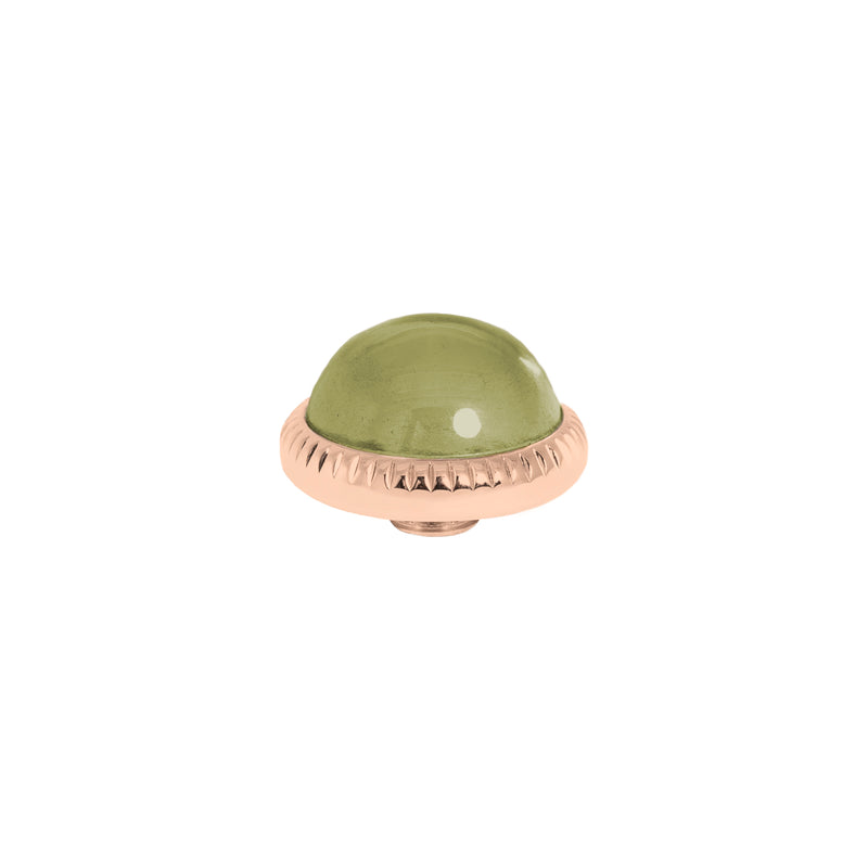 Vivid Low Dome | Rose Gold | Olive