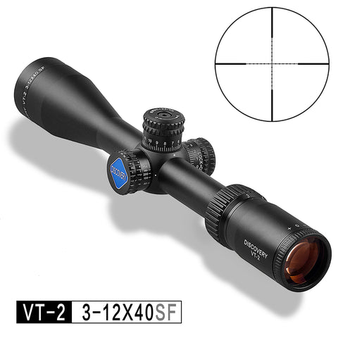 3-12 Riflescopes Discovery Glass Etched Side Focus .308 Shockproof Cheap Price Hot Selling