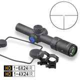 Discovery HD 1-4 1-6 with Illumination for AK47 AR15