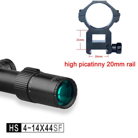 4-14 Rifle Scopes Discovery First Focal Plane HS Lifetime Warranty Sights Tactical Hunting Shooting Long Range