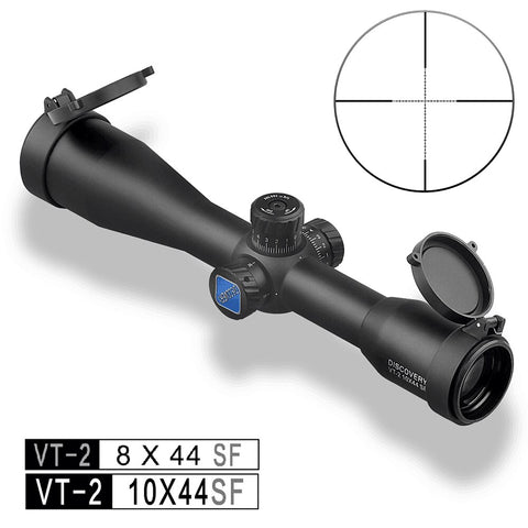 Wir308 Gun Riflescope Discovery 8 10 Magnification 30mm Tube Thin Eyepieceed Reticle