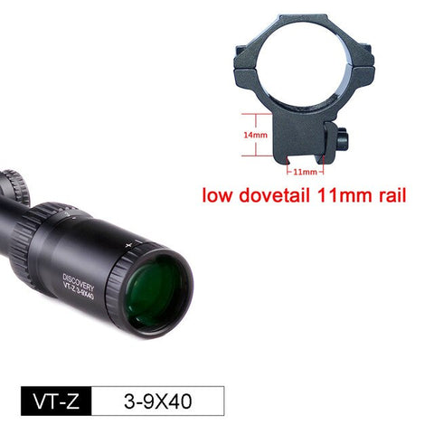 3-9 Scopes Discovery VT-Z Ultra Wide Angle Wired Reticle 1 inch Tube for Air Gun