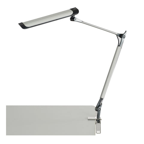 Aluminum Arm LED Lamp, Silver