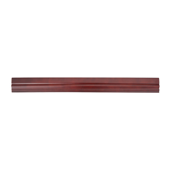 "Baby Bookcase Trim Kit, 12""W, Mahogany"