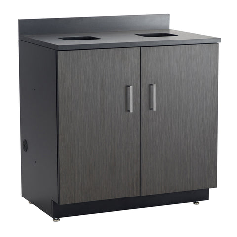 Hospitality Cabinet, Waste Management Base Cabinet, Asian Night Door Panels, Black Side Panels & Top